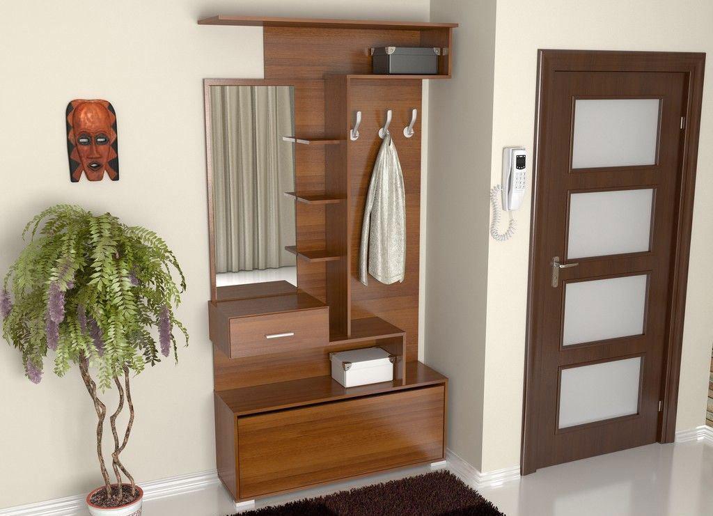 Мебель для маленьких прихожих можно приобрести во flash nika.